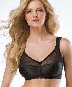 Sutien Alisha Black fara balene - Lenjerie pentru femei - Sutiene