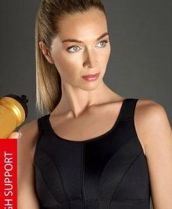 Sutien sport Thermo Cool Active - negru - Lenjerie pentru femei - Sutiene si topuri
