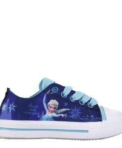 Tenisi copii Frozen turcoaz cu indigo - Incaltaminte Copii - Tenisi Copii