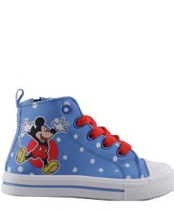 Tenisi copii Mickey Mouse albastri cu rosu - Incaltaminte Copii - Tenisi Copii