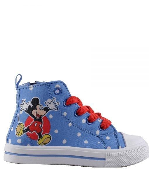 Tenisi copii Mickey Mouse albastri cu rosu – Incaltaminte Copii – Tenisi Copii