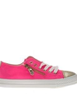 Tenisi dama Gisele roz neon - Incaltaminte Dama - Tenisi Dama