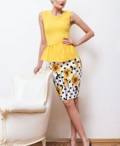 Top PrettyGirl Intense Feeling Yellow - Topuri -