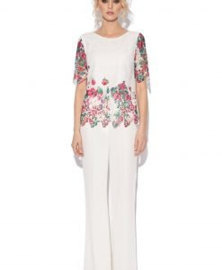 Top din dantela cu print floral IMPRIMAT - Imbracaminte - Imbracaminte / Topuri