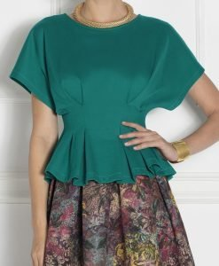 Top din tricot cu maneca scurta Verde - Imbracaminte - Imbracaminte / Topuri