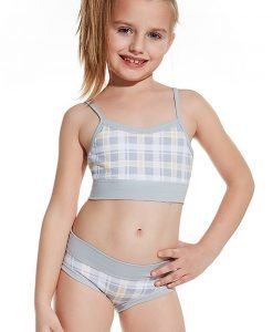 Top si chilot pentru fetite - set 83902 - Lenjerie pentru femei - Maiouri
