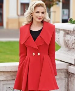 Trench Artista Angel Fall Red - Trenciuri -