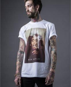 Tricou Bob Marley Smoke pentru barbati - Tricouri cu trupe - Mister Tee>Trupe>Tricouri cu trupe
