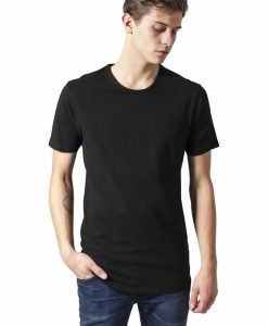 Tricou Fitted Stretch negru Urban Classics - Tricouri urban - Urban Classics>Barbati>Tricouri urban