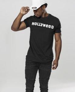 Tricou Hollyweed negru Mister Tee - Tricouri personalizate - Mister Tee>Interzise>Tricouri personalizate