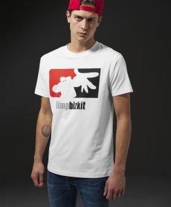 Tricou Limp Bizkit Big Logo alb Merchcode - Tricouri cu trupe - Mister Tee>Trupe>Tricouri cu trupe