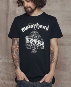 Tricou Motorhead Ace of Spades negru Merchcode - Tricouri cu trupe - Mister Tee>Trupe>Tricouri cu trupe