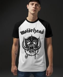 Tricou Motorhead Everything Louder alb-negru Merchcode - Tricouri cu trupe - Mister Tee>Trupe>Tricouri cu trupe