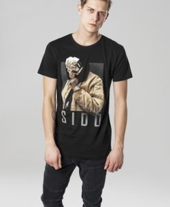 Tricou Sido Geuner negru Merchcode - Tricouri cu trupe - Mister Tee>Trupe>Tricouri cu trupe