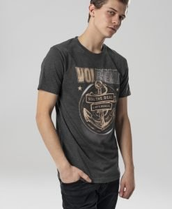 Tricou Volbeat Seal The Deal gri carbune Merchcode - Tricouri cu trupe - Mister Tee>Trupe>Tricouri cu trupe