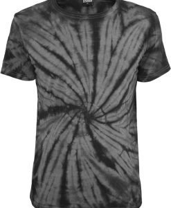 Tricou cu model special Batik gri inchis-negru Urban Classics - Tricouri urban - Urban Classics>Barbati>Tricouri urban