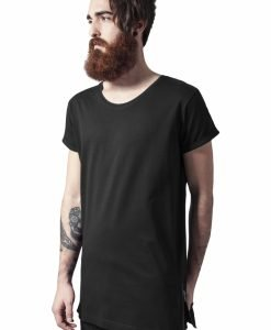 Tricou lung cu fermoar lateral - Tricouri lungi - Urban Classics>Barbati>Tricouri lungi