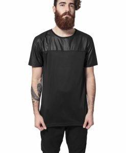 Tricou lung negru-negru Urban Classics - Tricouri urban - Urban Classics>Barbati>Tricouri urban