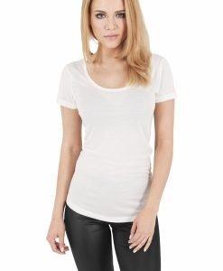 Tricou simplu pentru Femei alb murdar Urban Classics - Tricouri urban - Urban Classics>Femei>Tricouri urban