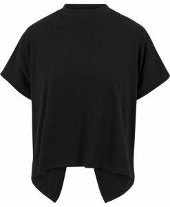 Tricou tip helanca pentru Femei negru Urban Classics - Tricouri urban - Urban Classics>Femei>Tricouri urban