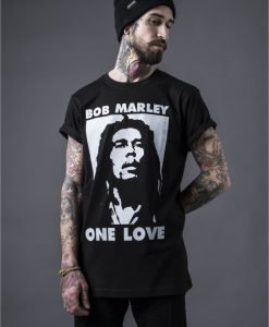 Tricouri Bob Marley One Love pentru barbati - Tricouri cu trupe - Mister Tee>Trupe>Tricouri cu trupe