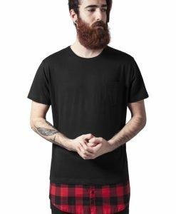 Tricouri barbati cu buzunar - Tricouri lungi - Urban Classics>Barbati>Tricouri lungi