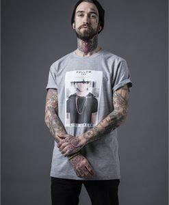 Tricouri hip hop cu mesaje Follow deschis-gri Mister Tee - Tricouri cu mesaje - Mister Tee>Regular>Tricouri cu mesaje