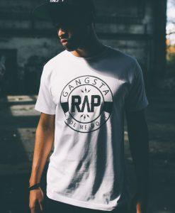 Tricouri rap Gangsta - Tricouri cu mesaje - Mister Tee>Regular>Tricouri cu mesaje