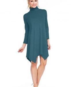Tunica dama Luba cu guler - Haine si accesorii - Tricouri maiouri tunici si pulovere