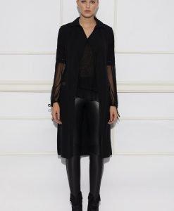 Vesta neagra eleganta Negru - Imbracaminte - Imbracaminte / Veste