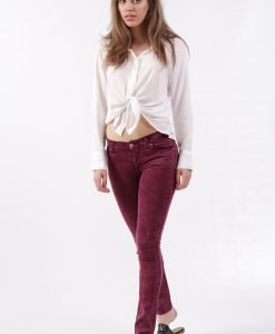 Blugi Cheap Monday Narrow Ice Wine - FEMEI - JEANS DAMA