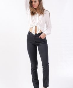 Blugi Cheap Monday Second Skin Almost Black - FEMEI - JEANS DAMA
