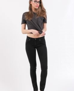 Blugi Cheap Monday Slim Pitch Black - FEMEI - JEANS DAMA