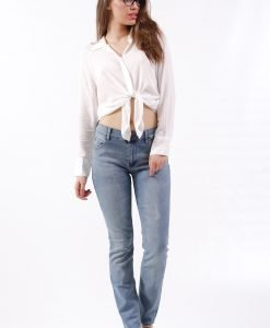 Blugi Cheap Monday Tight Favorite Used - FEMEI - JEANS DAMA