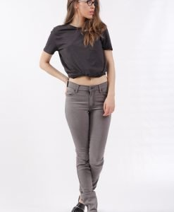 Blugi Cheap Monday Tight Mid Grey Wash - FEMEI - JEANS DAMA