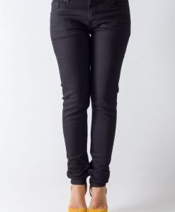 Blugi Weekday Grand Black - FEMEI - JEANS DAMA