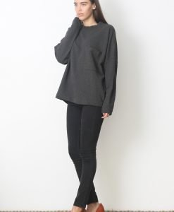 Bluza COS Oversized Grey - FEMEI - PULOVERE DAMA