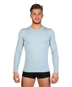 Bluza Datch Home Light Blue - BARBATI - LENJERIE BARBATI