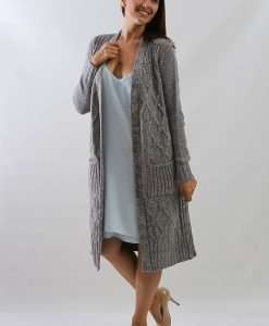 Cardigan Next Long Gri - FEMEI - PULOVERE DAMA