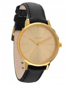 Nixon - Ceas Kensington Leather Gold/Bridle - Accesorii - Ceasuri