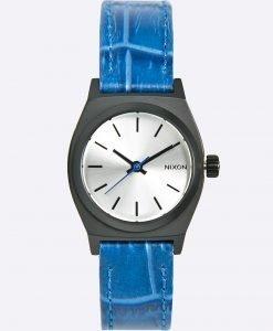 Nixon - Ceas Small Time Teller Black/Blue Gator - Accesorii - Ceasuri
