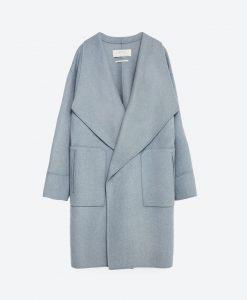 Palton Zara Handmade Wool - 50% OFF - 50% OFF