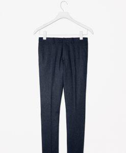 Pantaloni COS Navy din lana - BARBATI - PANTALONI BARBATI