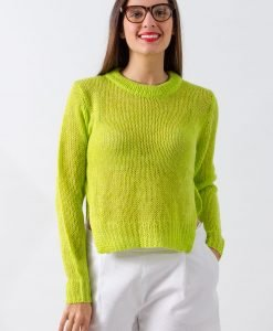 Pulover Cheap Monday Lime - FEMEI - PULOVERE DAMA
