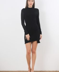 Rochie &Other Stories Black Asymetric - FEMEI - ROCHII