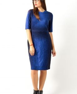 Rochie tricotata COS Blue Moon - FEMEI - ROCHII