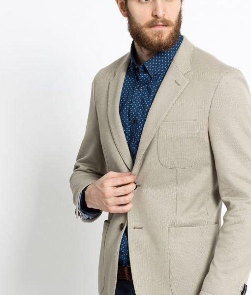 Tommy Hilfiger – Sacou Jersey Floral Alx – Îmbrăcăminte – Sacouri si costume