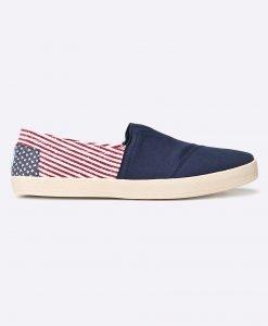 Toms - Pantofi CANVAS FLAG MENS AVALON SNEAKE - Încălţăminte - Pantofi sport şi tenişi
