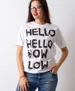 Tricou Cheap Monday Hello - 50% OFF - 50% OFF