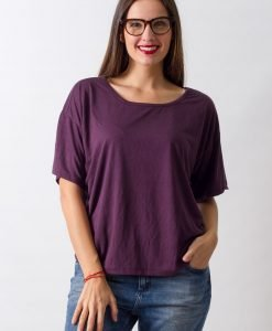 Tricou Weekday Plum - 50% OFF - 50% OFF
